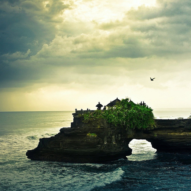 Le temple de Tanah Lot, 2011.