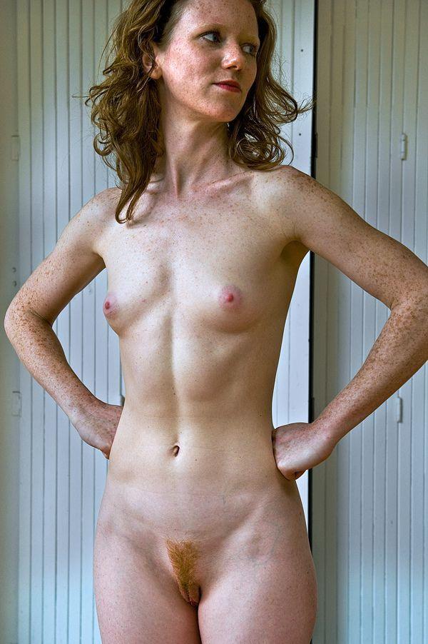 Skinny very old nude grannies