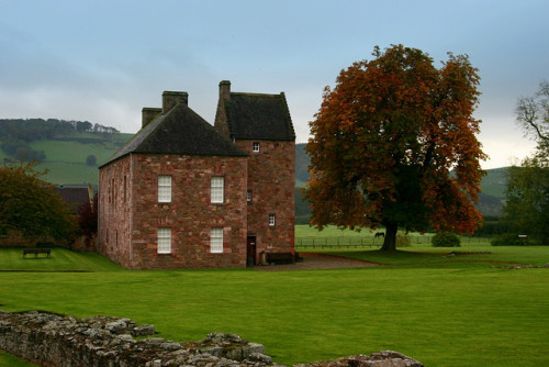 ysvoice:| ♕ |  Meadow house near Melrose Abbey, Scotland  | by © Sonja Pieper