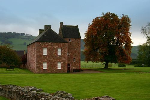 ysvoice:| ♕ | Meadow house near Melrose Abbey, Scotland | by © Sonja Pieper