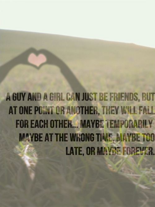 Falling Love Your Best Guy Friend Quotes