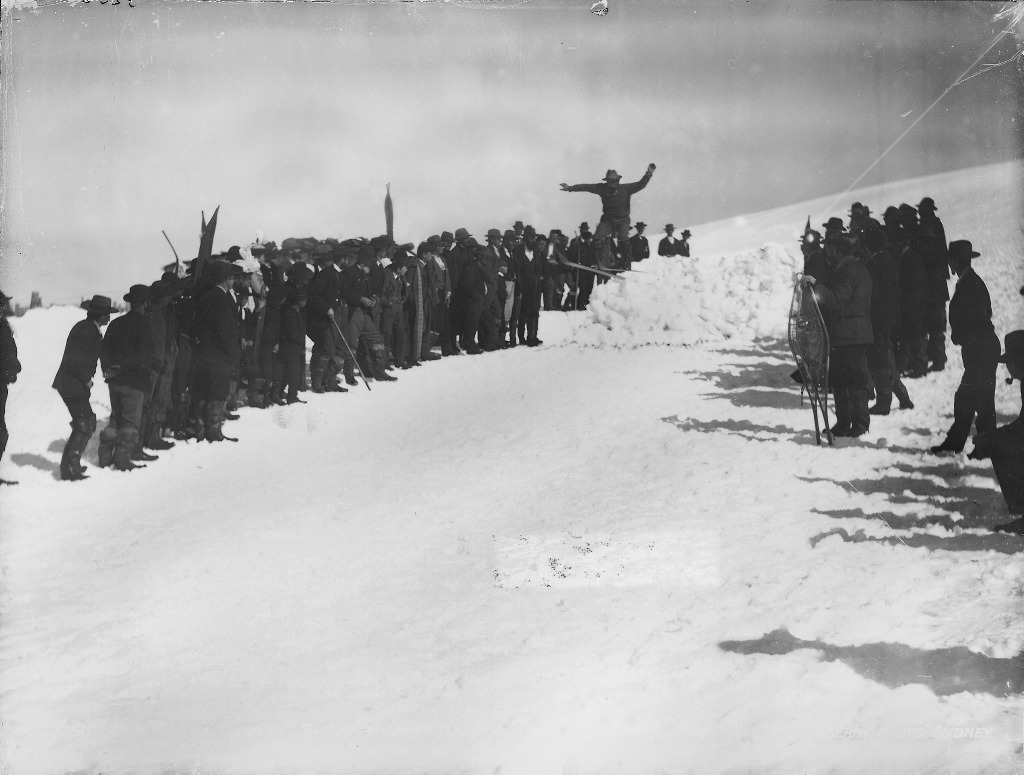 snow fields 1900?