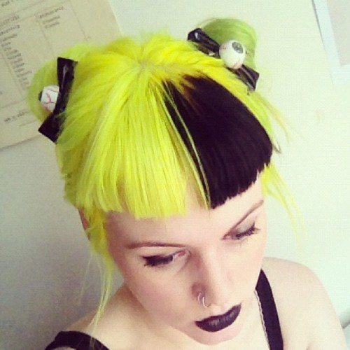 Yellow Hair On Tumblr