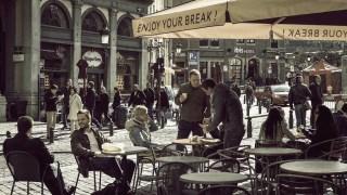 カフェが街を作るイメージ