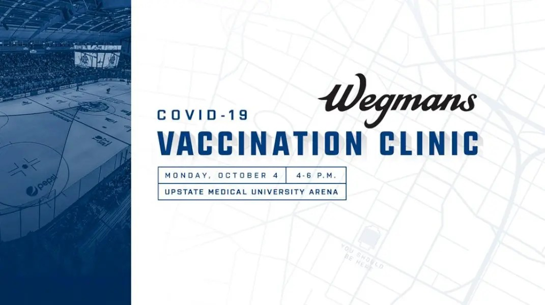 syracuse-crunch-partner-with-wegmans-to-hold-covid-19-vaccination-clinic-october-4