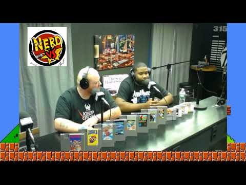 Nerd VS (Video Games) 8-22-2018
