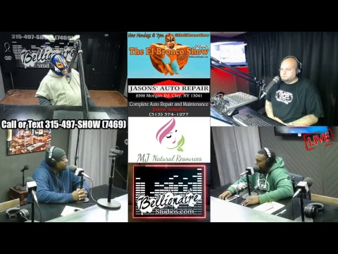 The El Bronco Show 10-22-2018 (Football w/ Geddes Knights crew!!!