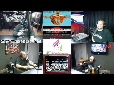 The El bronco Show 10-1-2018 W/ Dave Doty - Budda & Bellionaire