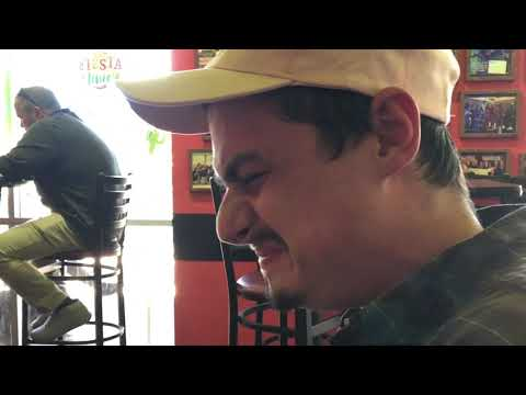 Stoned Joey Logano - Takes A Shot Of The Hottest Tijuana Flats Sauce