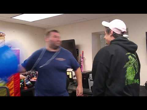 Lummox trades punches with Stoned Joey Logano