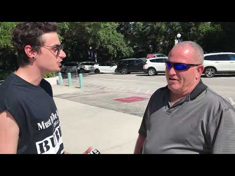 SJL On The Street - Interviewing People At Larry The Cable Guy Show