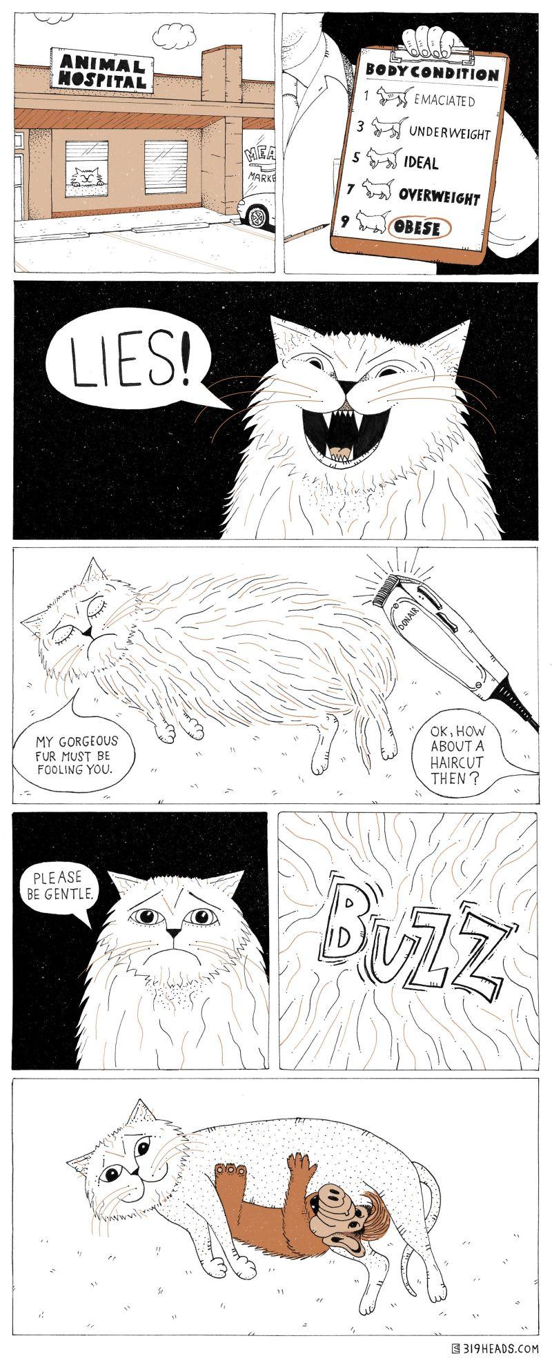 319 Heads Comics - 001: Little Gordon
