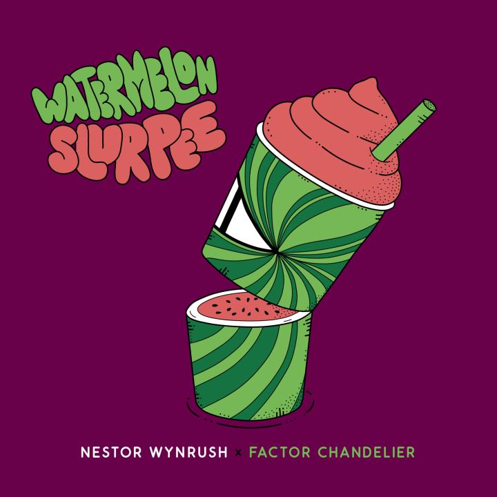 Nestor Wynrush x Factor Chandelier - Watermelon Slurpee