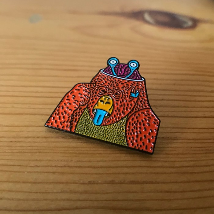 Candy & Coombs Pin