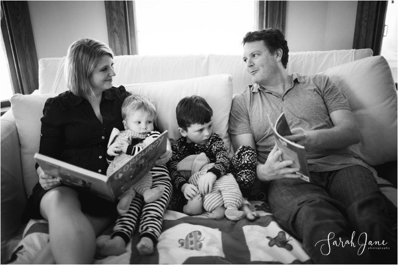Story time with kids Sarah Jane Photography