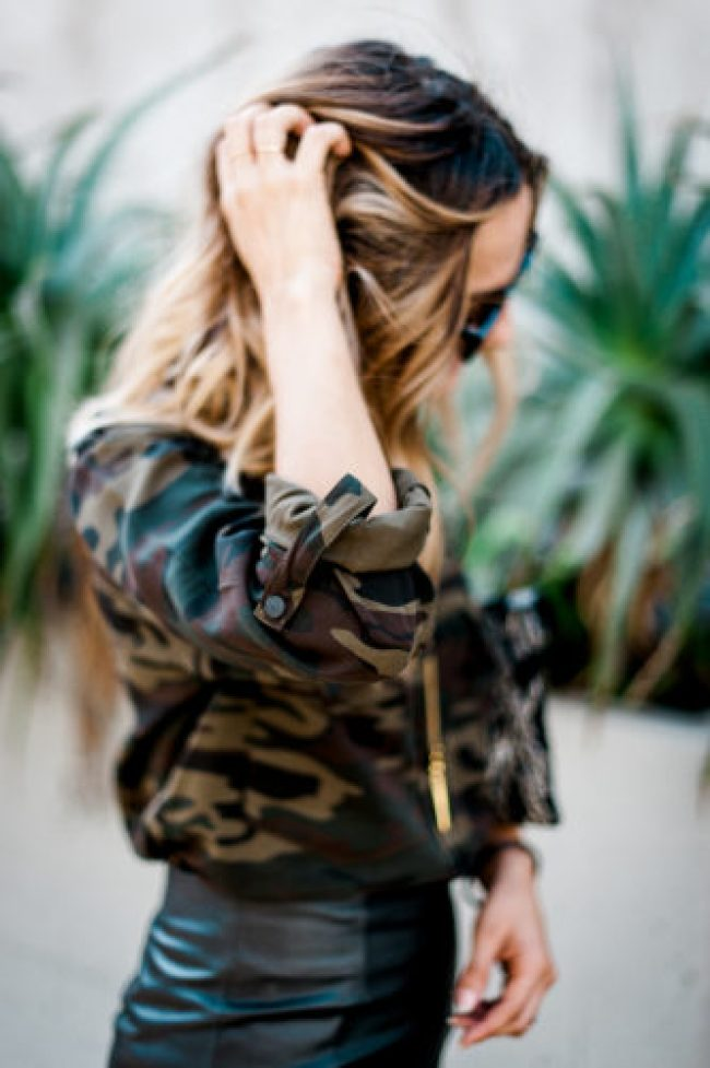 Camouflage Print   Charmed by Camille