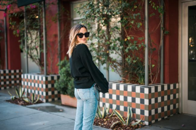 Black Sweaters Under $50 | Charmed by Camille