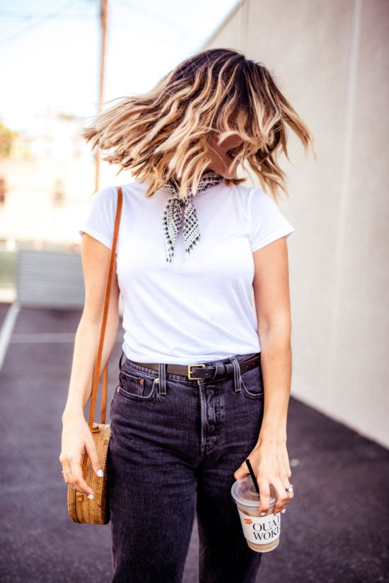 Black Summer Jeans   Charmed by Camille