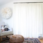 Ikea Hack Pinched Pleat Curtains The Vintage Rug Shop