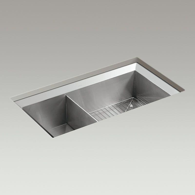 kohler stainless steel kitchen sinks