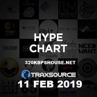 Traxsource Hype Chart (11 Feb 2019)