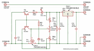 Electronic Fuse Circuit for Power Supply  Electronics