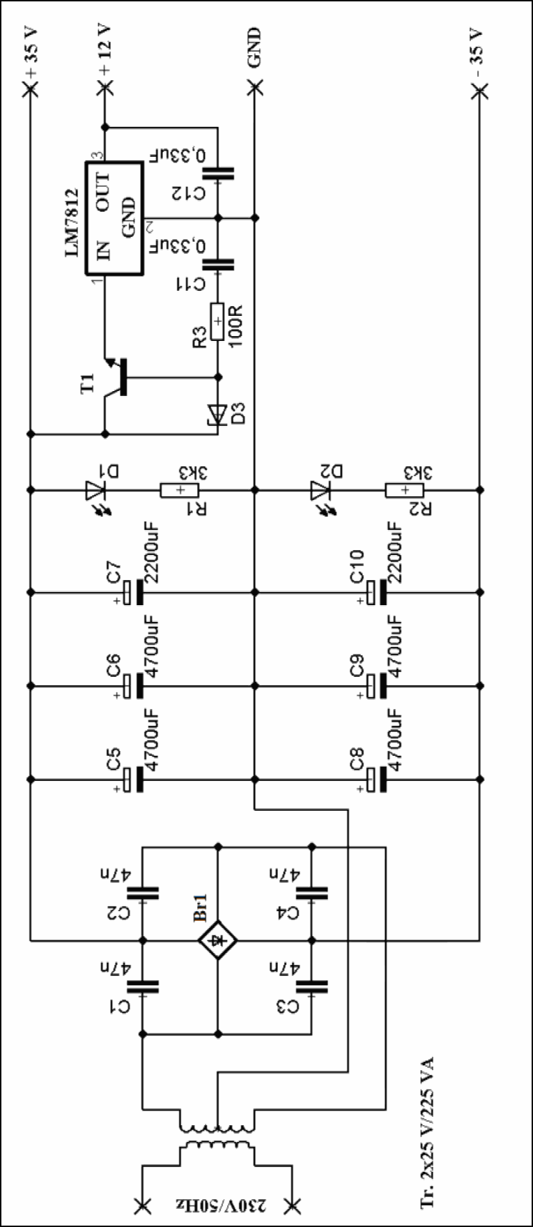 Irs Class D Amplifier Circuit Lm Tone Controlled