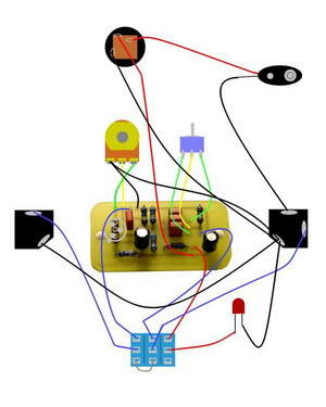 Guitar Effects, Pedal, Bypass Circuits  Electronics
