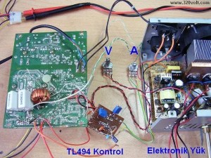 ATX Power Supply with Adjustable Voltage Current Modified  Electronics Projects Circuits