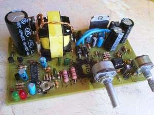 TDA7294 Car Subwoofer Amplifier Circuit TL494 DC to DC