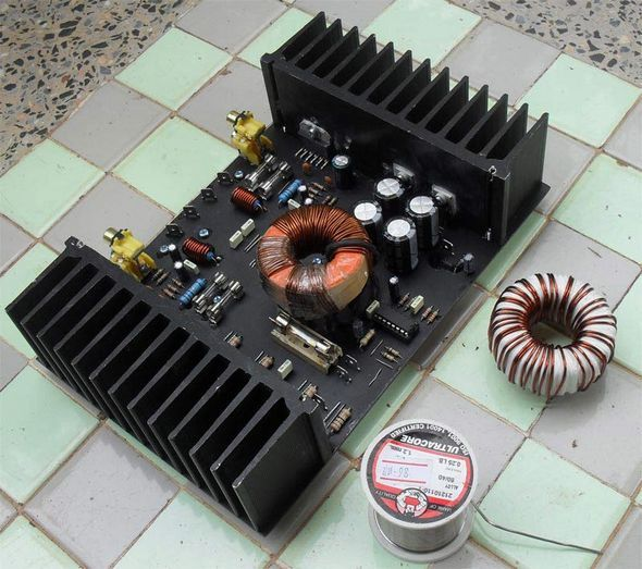 200w Car Amplifier Circuit Lm Sg
