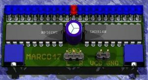 VU Meter Circuits LM3914 LM3915 PCB  Electronics Projects