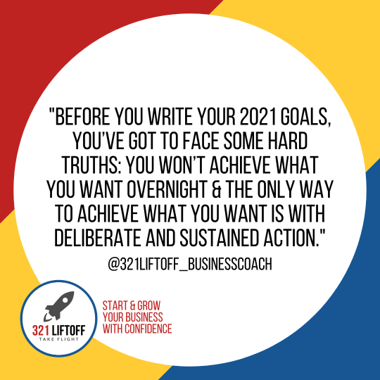 321 Liftoff | How to Write Goals That Will Help You Start 2021 Right