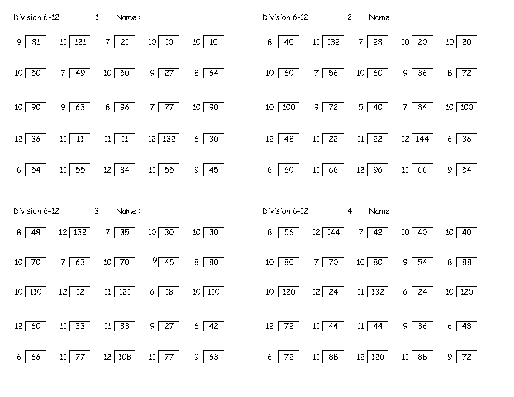 Images About Long Division