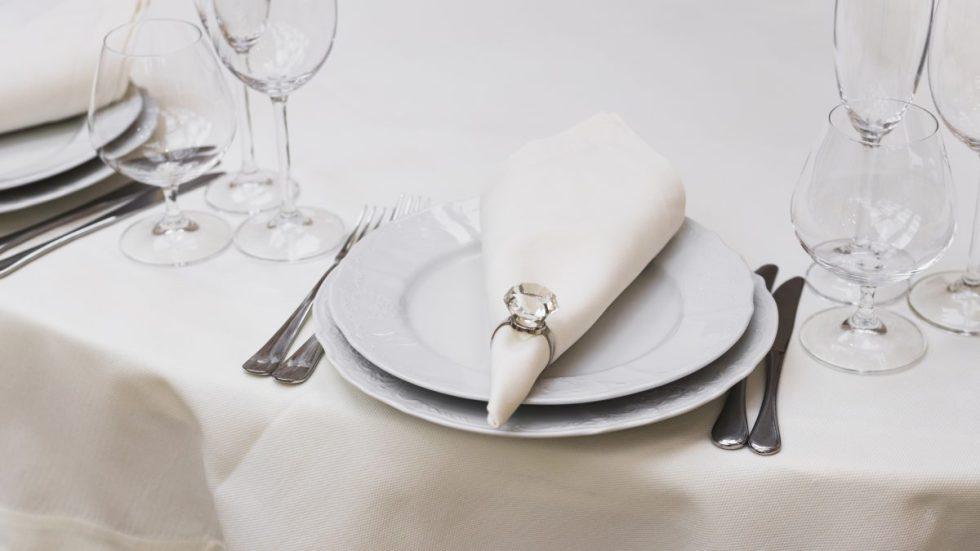 Conoces el protocolo de los cubiertos en las bodas