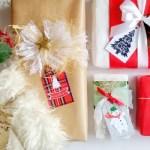 Etykiety na prezenty świąteczne – do wydruku