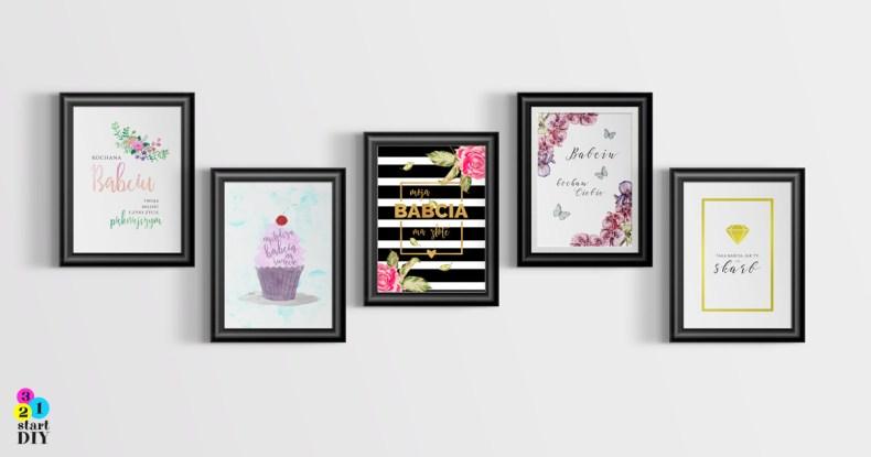 Plakaty na Dzień Babci
