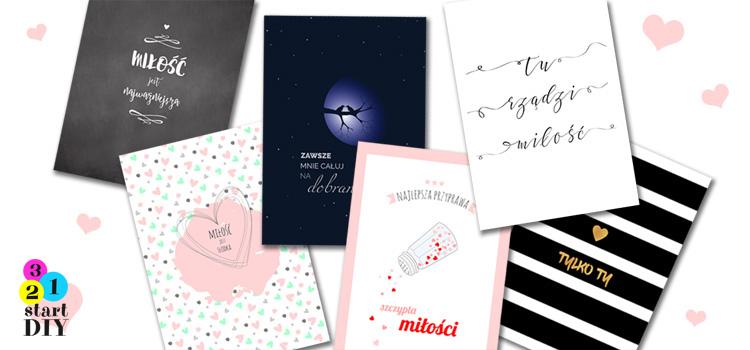 darmowe plakaty miłość
