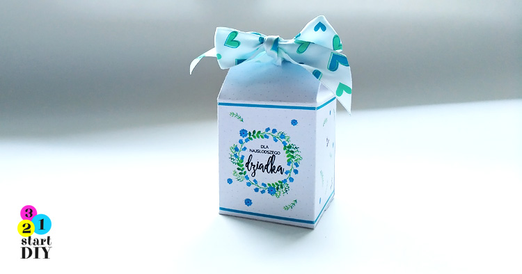pudełko na słodkości
