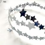 Wianek z gwiazd w sam raz na karnawał