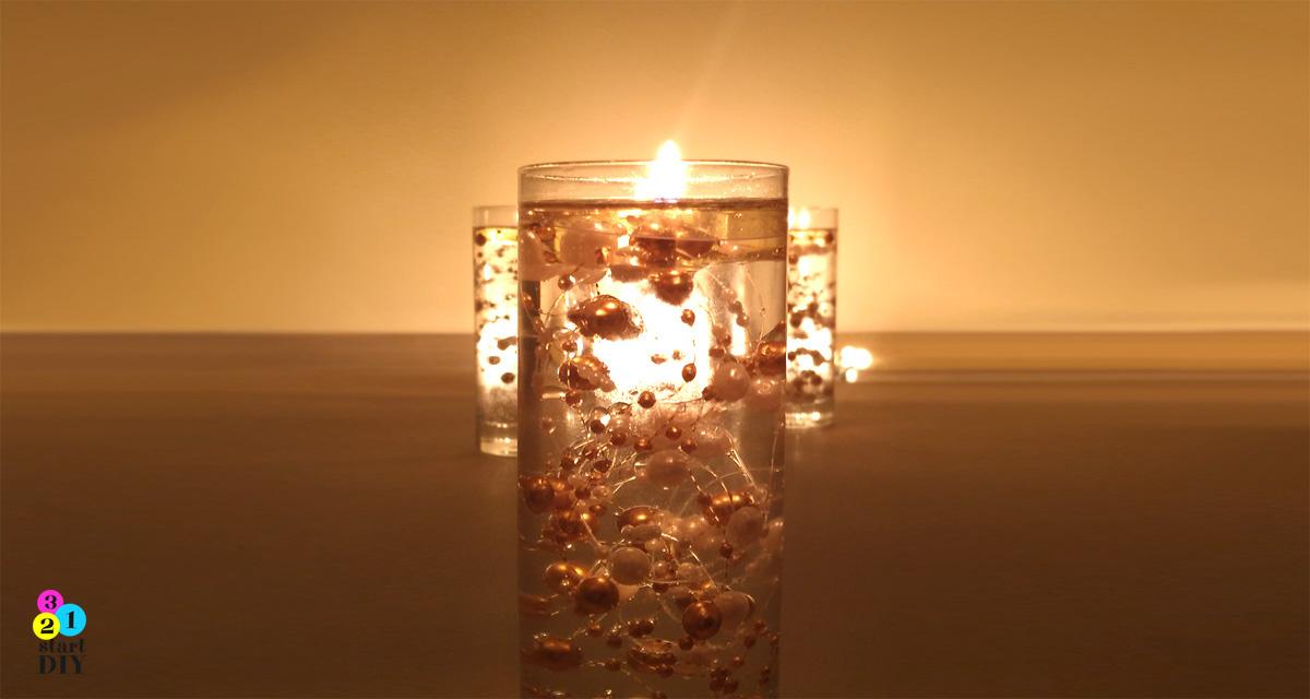 Jak zrobić świecę bez wosku w 5 minut
