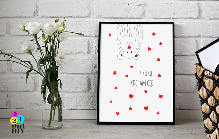 darmowe plakaty o miłości po polsku