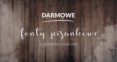 fonty pisankowe z polskimi znakami