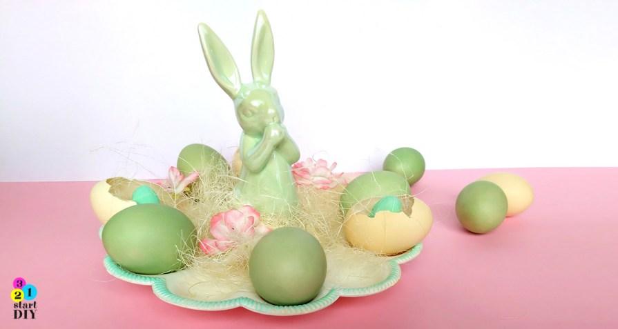sposoby na barwienie jajek
