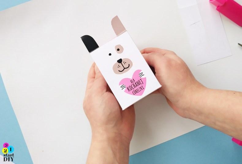 pudełeczka na słodycze, pudełeczka na prezenty, pudełka dla dzieci, do wydrukowania