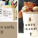 Jak zrobić torbę z papieru czyli modne worki na zabawki i nie tylko