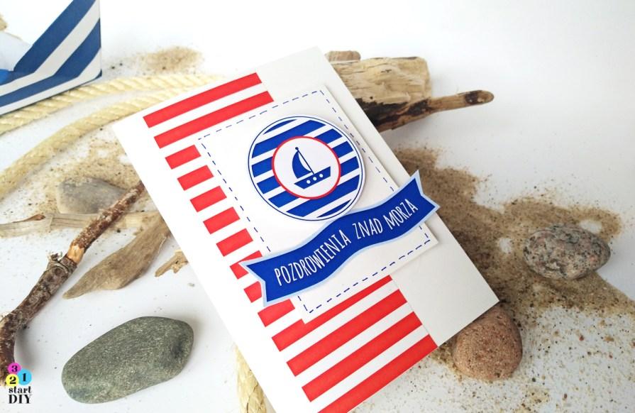papier do druku, morskie klimaty, motywy morskie