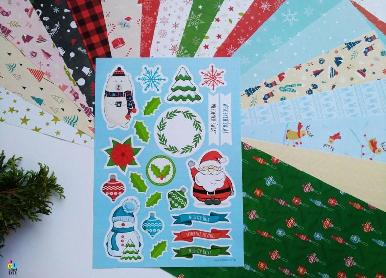 papiery świąteczne do druku