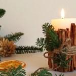 Jak ozdobić świece – 4 świąteczne inspiracje