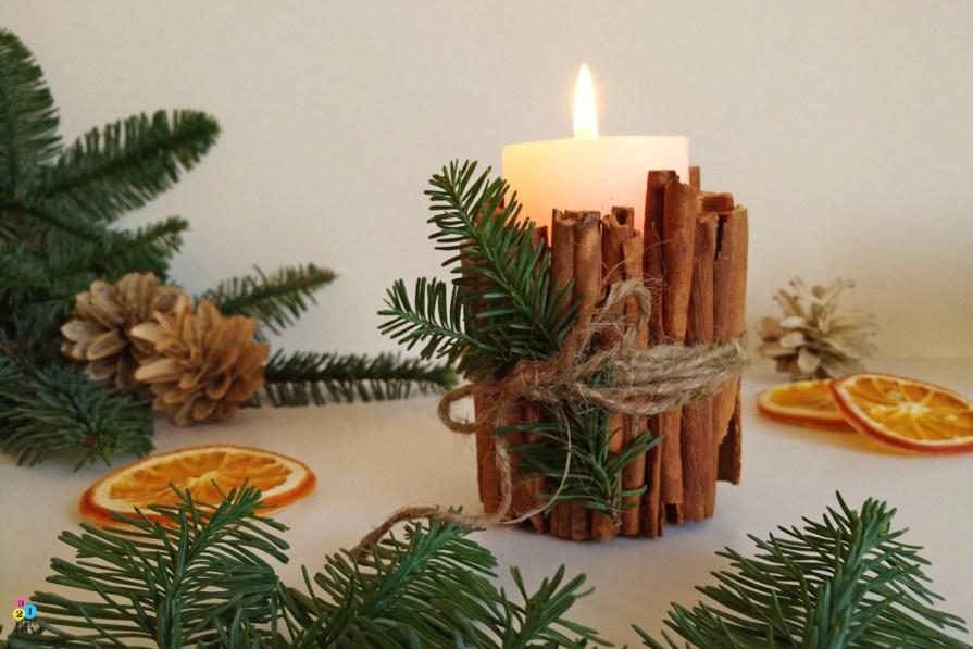 Jak ozdobić świece - 4 świąteczne inspiracje